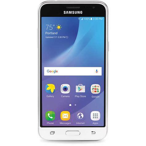 Samsung Galaxy J3 Smartphone White consumer cellular galaxyj3 wht samsung galaxy j3 smartphone white