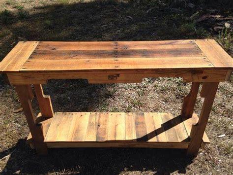 diy entryway table pallet furniture diy
