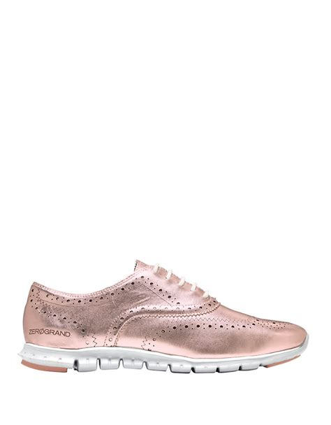 wingtip sneakers cole haan wingtip oxford sneakers lyst