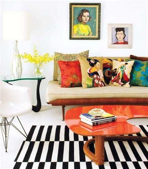 interior design color patterns bold orange color accents 25 bright and modern interior