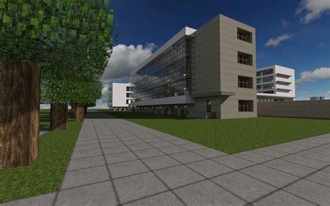 Open Floor Plans With Basement bauhaus school of architecture modernist build minecraft