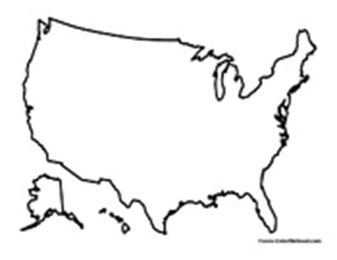 united states outline coloring page united states coloring pages