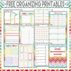 home finance bill organizer template more than 200 free home management binder printables