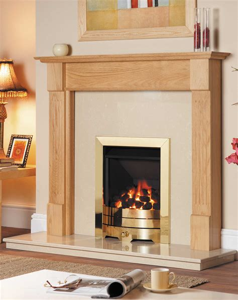 Kc Fireplace by Solid Oak Kansas Surround Fires And Surrounds
