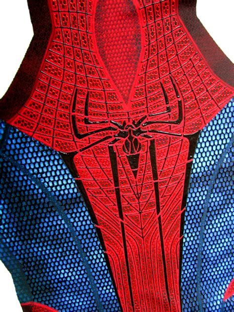 spiderman pattern file the amazing spider man costume teaser by merkymerx on