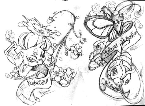 pokemon tattoo old by badafra on deviantart