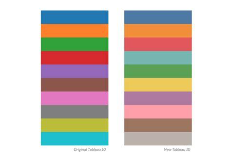 tableau custom color palette how we designed the new color palettes in tableau 10