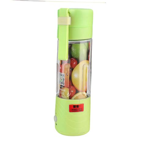 Blender Jus Portable 380ml portable juicer cup rechargeable battery juice blender 380ml usb juicer hw