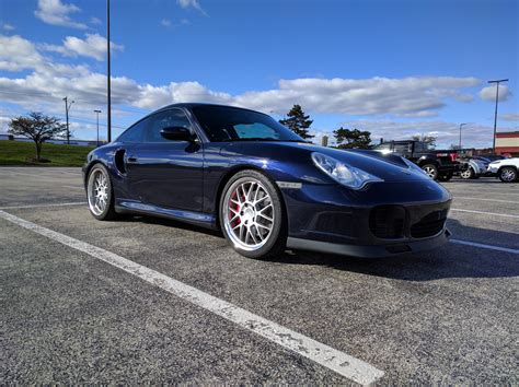 porsche midnight blue 2002 porsche 911 turbo midnight blue 33k