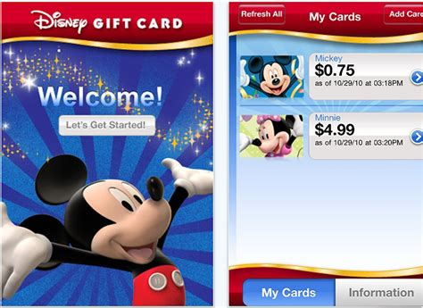 new disney gift card app now available disney parks blog - Disney Gift Card App
