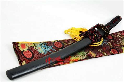 tang battle ready katana battle ready quenched steel blade japanese