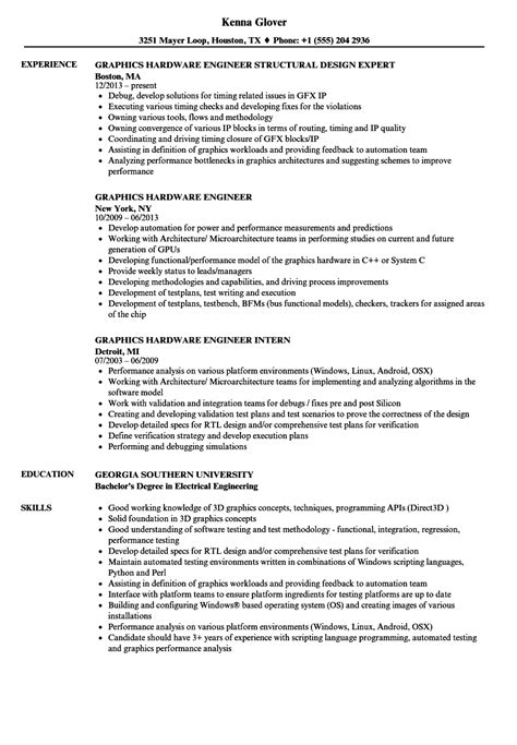 hardware design cv hardware design engineer sle resume sle of acting resume