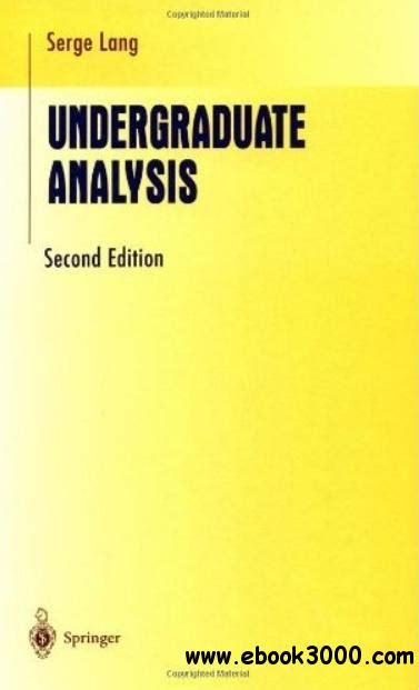 introduction to radar analysis second edition advances in applied mathematics books undergraduate analysis 2nd edition free ebooks