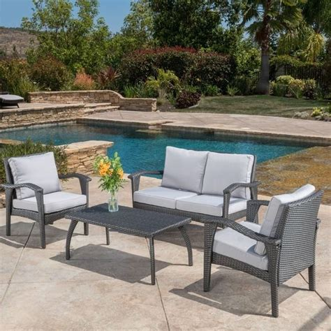 Outdoor Patio Furniture Sets Sale Patio Furniture Sets Clearance Sale Loveseat Coffee Table Outdoor Furniture Yard Ebay