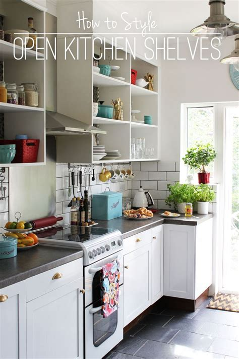 open shelf kitchen cabinets open kitchen shelves yes makes you wanna keep them