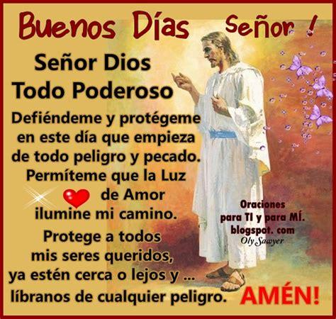 Imagenes De Buenos Dias Mi Amor Que Dios Te Bendiga | oraciones para ti y para m 205 buenos d 205 as se 209 or
