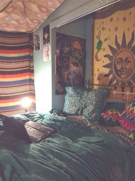 boho bedroom tapestries hippie ish mi casa