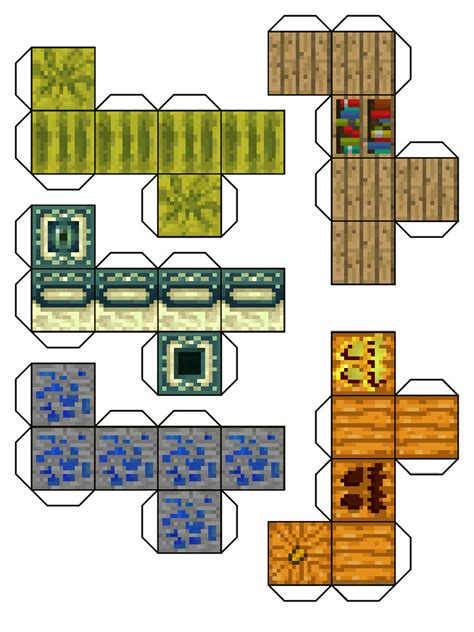 Papercraft Minecraft Templates - paper crafts template minecraft skin