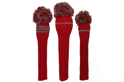 knit headcovers classic knit golf headcover set knitted golf headcover