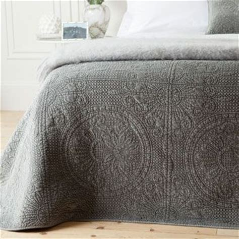 grey quilts and coverlets velvet quilt by zara home love she makes her house a