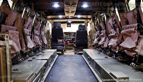 armored vehicles inside armored personnel carrier streit usa armored typhoon