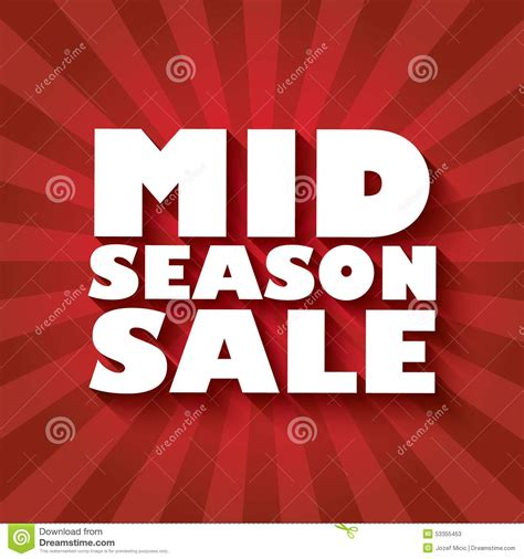 Wallis Mid Season Sale by Mid Season Sale Poster Design With Bold Font And Stock