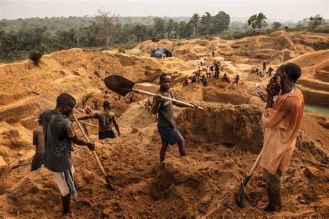 Democratic Republic Of Congo Child Labor Mining | inside the democratic republic of congo s diamond mines