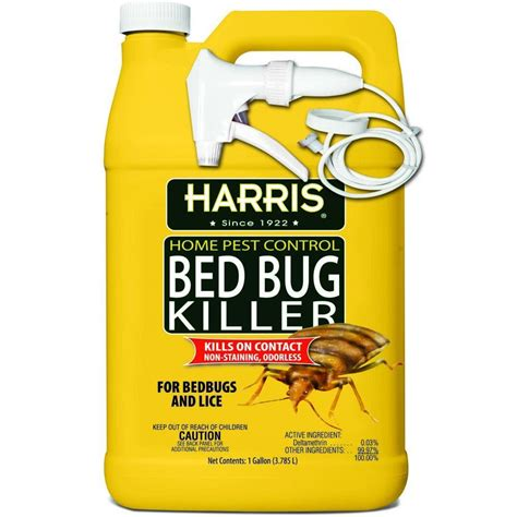 what is the best bed bug killer harris 1 gal bed bug killer hbb 128 the home depot