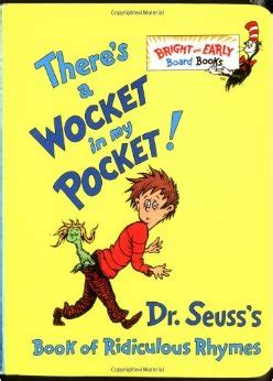 if there s a will books there s a wocket in my pocket dr seuss s