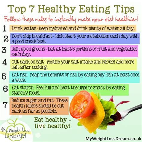 8 Tips For A by Here Is My Top 7 Healthy Tips Weightloss
