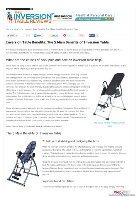inversion table benefits the 5 benefits of inversion