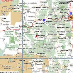 map of montrose colorado montrose colorado