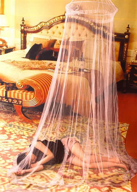 mosquito net curtain elegant round lace insect bed canopx netting curtain dome