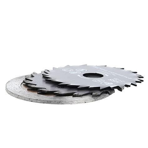 Hss Saw Blade 6 Pcs 3 Mm T3009 3 pcs out diameter 54 8mm hss mini wood circular saw blade