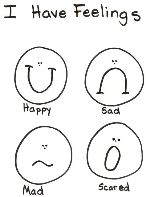 Emotions Draw The Faces Worksheet The Best And Most