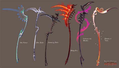design kinds art anima scythes set 1 by wen m on deviantart