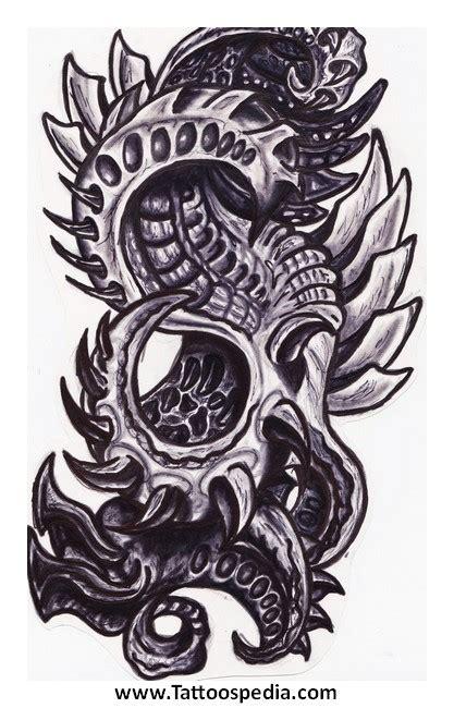 biomechanical tattoo san francisco biomechanical tattoos sketches 4
