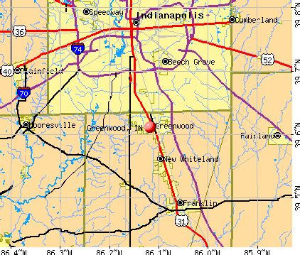 greenwood, indiana (in 46142, 46184) profile: population