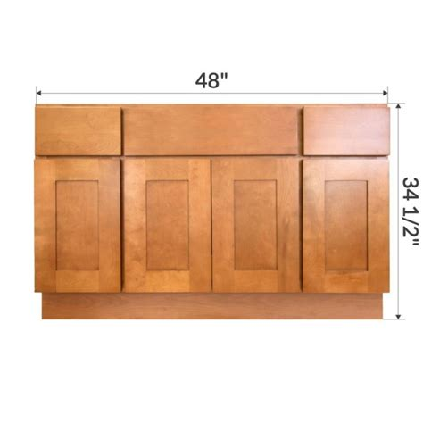 Kitchen Base Cabinet As Bathroom Vanity Vsb4821345 Newport 48 Quot Vanity Sink Base Cabinet Rta Rta