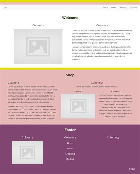 bootstrap layout code bootstrap two column layout exle phpsourcecode net
