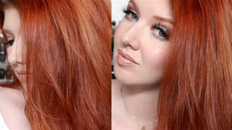 tutorial on how to get bright red hair without bleaching hair color tutorial my copper red shade challenge doovi