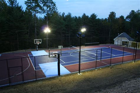 Backyard Basketball Court Tiles by Outdoor Basketball Courts Flooring Backyard