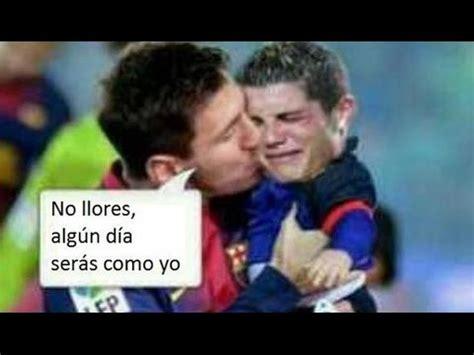 Memes De Messi - memes y burlas de messi y cr7 por la supercopa obtenida por barcelona 2015 ante el sevilla youtube