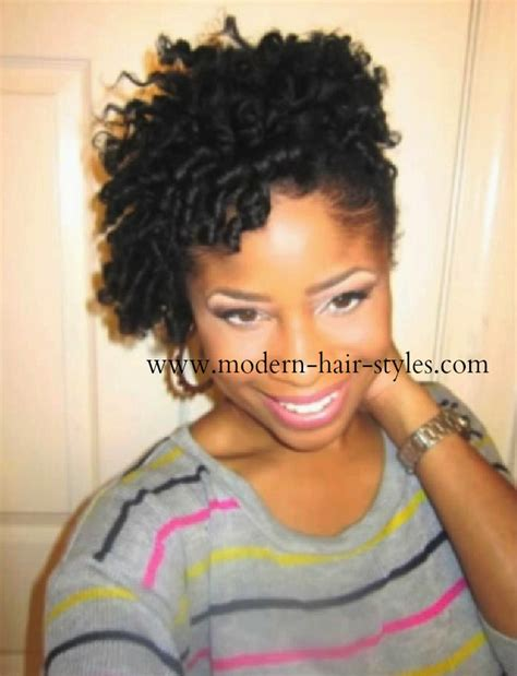 black women flexi rod hair styles short hairstyles for black women self styling options