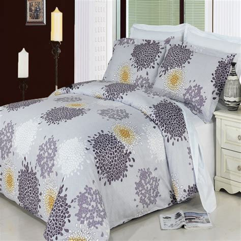 cotton king comforter fifi king california king 4 piece 300 thread count