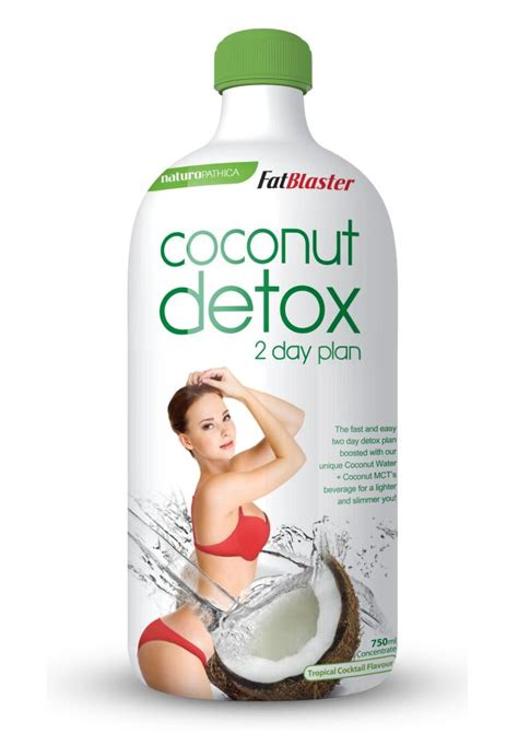 Coconut For Detox by Trialling The New Fatblaster Coconut Detox 2 Day Drink