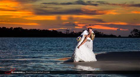 Whitney and Bradon ? Wedding at Tybee Island Beach » Gambrell Photography