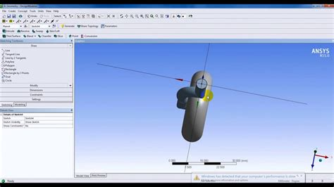 ansys designmodeler tutorial ansys designmodeler tutorial 1 sketching and 3d