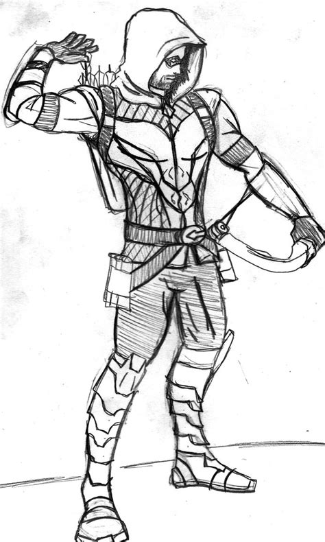 Green Arrow Coloring Pages green arrow free coloring pages