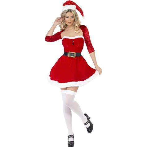sexy weihnachtsfrau damenkostuem weihnachtskostuem damen